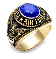 2014 HOT SALE fashion mens military rings