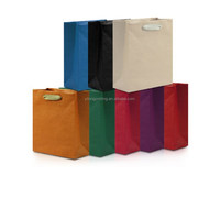 brown kraft paper shopping bag for clothes