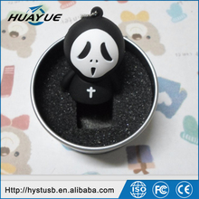China Suppier cartoon ghost usb pendrive Halloween gifts 4gb 8gb usb wholesale