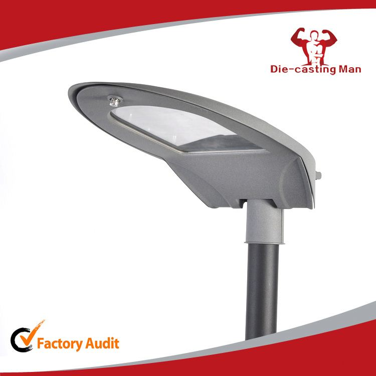 Tennis racket shape Aluminium housing body 180w led street light case