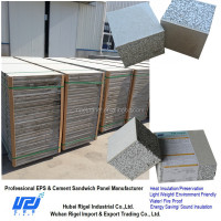 Waterproof heat insulation sandwich wall panel eps raw material price
