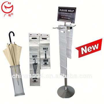 New economical umbrella disposable bags stand for full sizes of umbrellas 2014 new soap dispenser