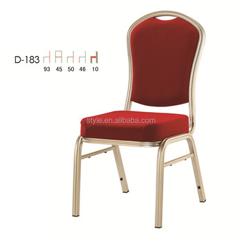 aluminum stackable used Banquet chair D-183