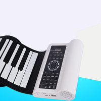 Flexible Roll Up Synthesizer Keyboard Piano with 88 Soft Keys
