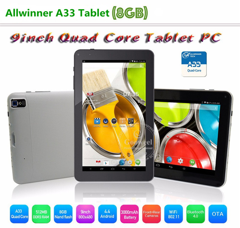 9'' tablet pc with front and back camera adult pc games tablet android tablet external 3g module