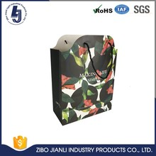fancy luxury printed recycled kraft paper bag manufacturers guangzhou