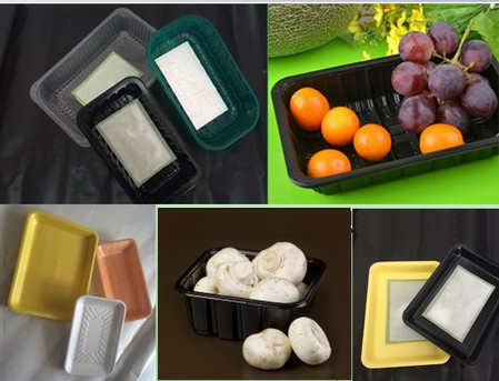 Vacuum Formed Food Grade Meat and Poultry Packaging EPS Foam Trays
