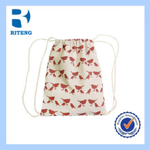 Factory Price cotton bag/cotton canvas bag/cloth draw string bag