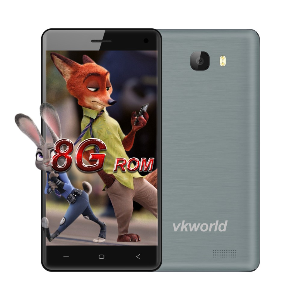 vkworld T5 - Big Horn Handphone MTK6580 Quad Core 1.3Ghz Dual Sim card Low Price China 3G Mobile Phone Android Smartphone