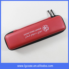 New arrival vaporizer pen case, leather insulin pen carrying case with company brand logo