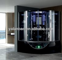 Steam Shower Room with sauna bathtub and TV G160/steam room with jacuzz bathtub outdoor spa