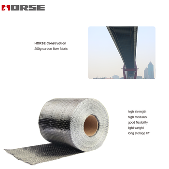 HM-20 ISO9001:2008 certification 200g carbon fibre cloth for construction