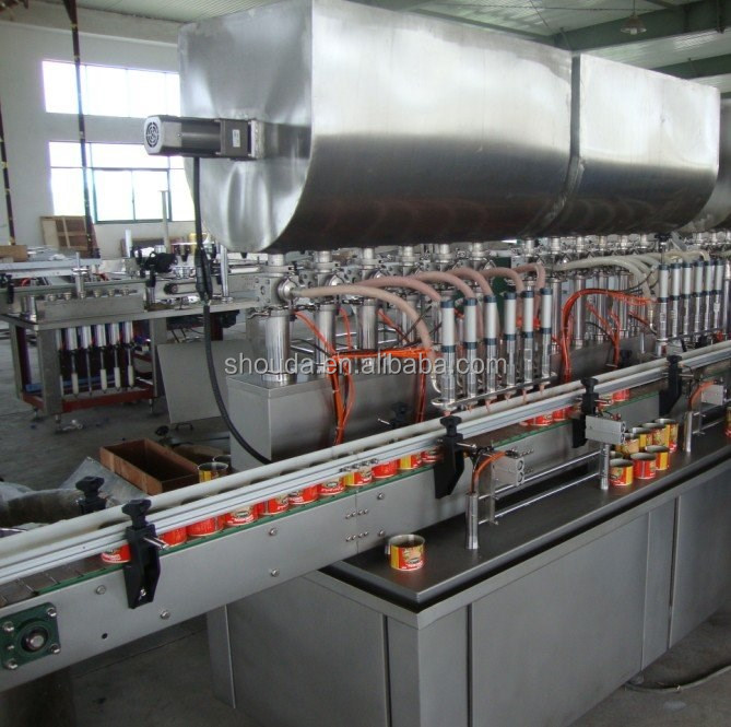 packing machine automatic sweet red bean paste filling machine shanghai