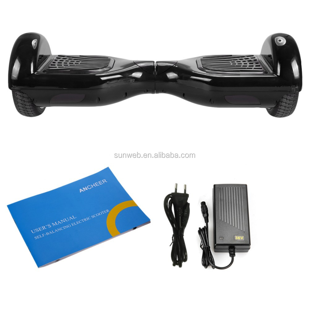 2016 new Smart electric scooter two wheels self balancing with LG battery EU plug Benz wheel 6.5 Inch Ancheer AM002727