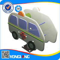 car spring rider for kids police car ambulance motorcycle bicycle