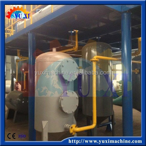 Used oil recycling machine/black oil recovery plant/waste motor oil renew to car oil machine
