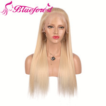 High Quality Unprocessed Cambodian natural afro blonde hair full lace wig