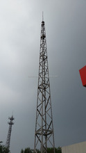 tubular tower/self supporting lightning-protection rod steel tower