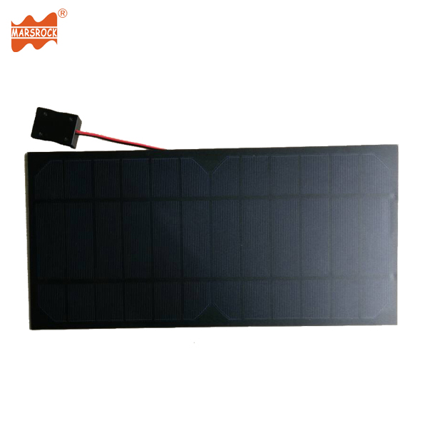High Efficiency 350x170mm 9W 6V Monocrystalline PET Solar Panel With USB Port