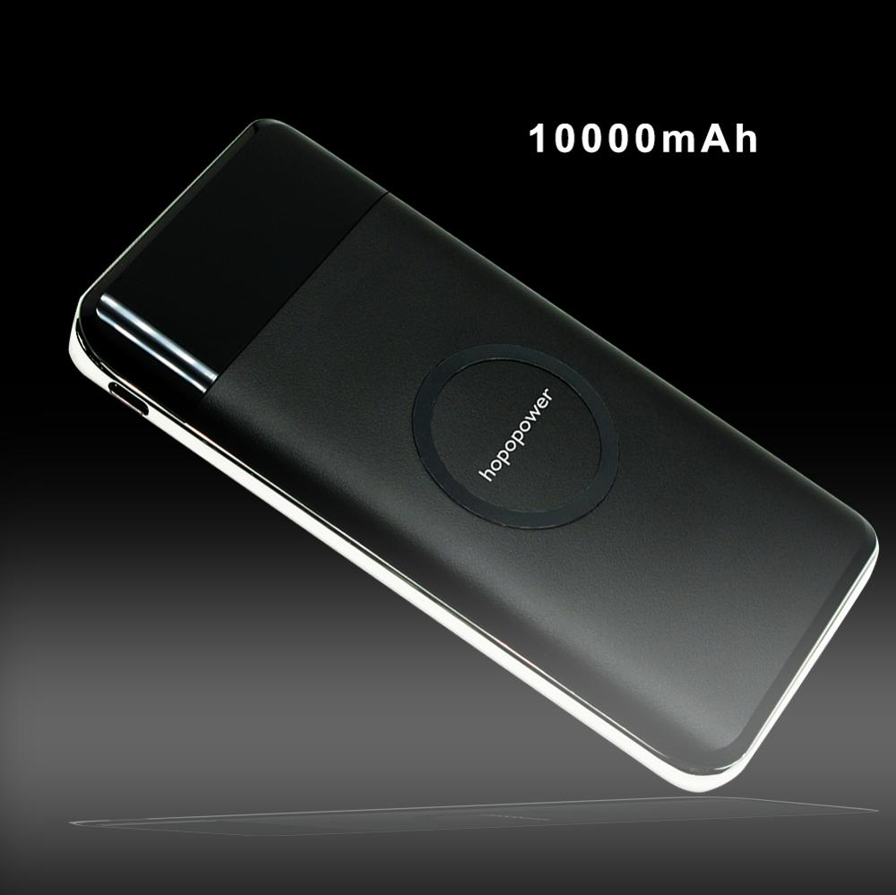 new products 2018 innovative product power bank wireless charger 10000mAh QC3.0 Support TYPE C Input output