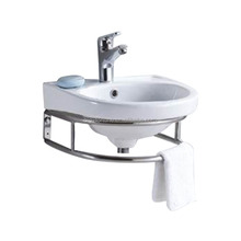 bathroom wash above Counter Basin sink with Single Hole