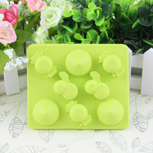 2017 new design custom food grade candy mold silicone ice cube tray
