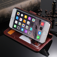 Mobile phone case vintage flip pu leather case for iphone 6 plus 4.7 , for iphone 6 case customize , for iphone 6 customize case