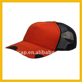 Wholesale 5 panel hat blank trucker cap