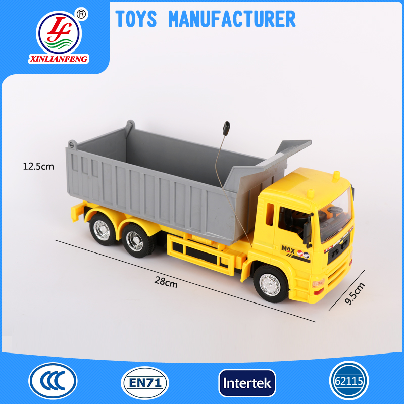 Hot sale product radio control toy tipper plastic truck toys for sale