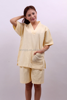 New Design Elegant Cotton Sleepwear Bathrobe Sauna Sweat Suit
