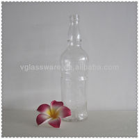 750ML ENGRAVED LIQUOR GLASS BOTTLE