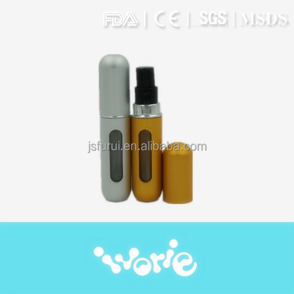 Hot sale aluminium refill perfume atomizer spray bottle, empty perfume atomizer
