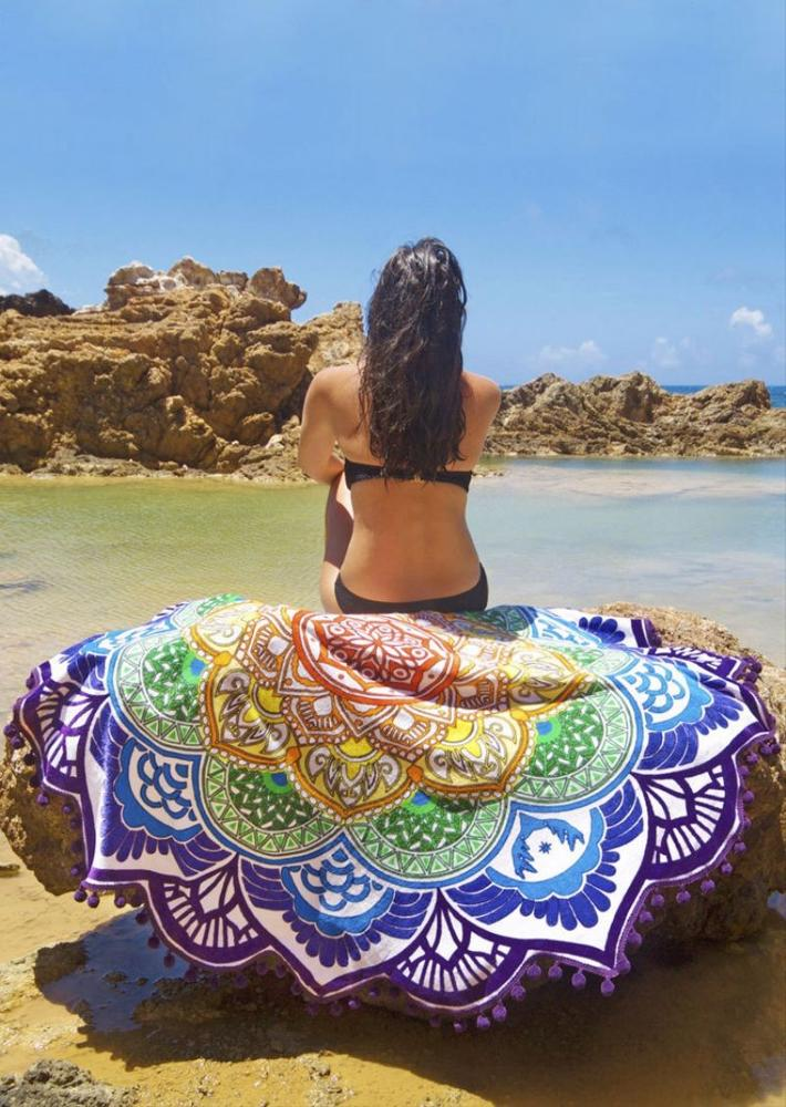 100 cotton super size beach towel/alibaba supplier large round beach towel/cheap beach towel in china