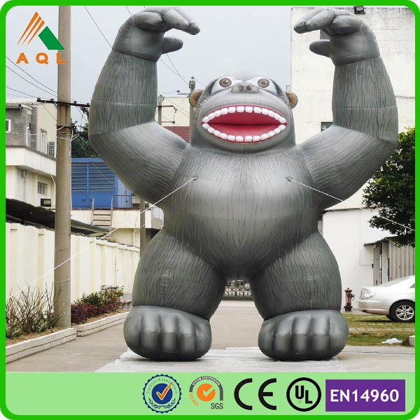 Advertising cheap price 2016 giant inflatable ape for advertising