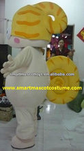 Hot sale high quality lovely adult snail mascot costume snail costume