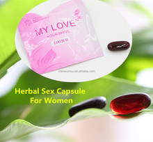 Sexual product sex enhance capsule quick sex medicine for women