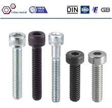 High Quality DIN 912 Hex Socket Head Bolt from China Manufacturer