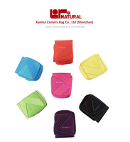 Colorful digital camera pouch