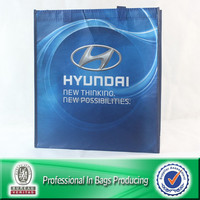 Lead Free Lamination Printed Recycled Bottle Fabric RPET Euro Shopper Bag
