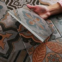 Neueste Standard Größen 8x8 Dekorative Antike Blume Design Muster Keramik  Wand Funktion Bodenfliese