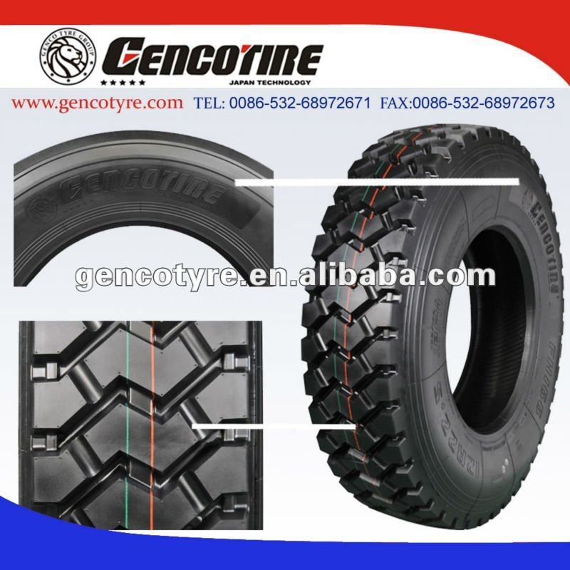 off road pattern 166 12R22.5 truck tire