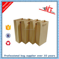 Advertisement greaseproof paper bag for food, bag importer recycled brown paper bag