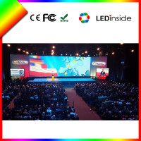 Sunrise indoor event used full color fixed led display tv, multifunction indoor led video wall