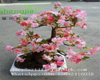 SJLJ0889 wholesale artificial cherry blossom flower tree for centerpiece wedding table