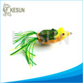 Wholesale Hollow Frog Bait Soft Frog Topwater Fishing Lure 55mm-13g