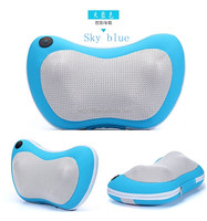heat/infrare shiatsu kneading massage pillow with (KC,CE,UL,GS,EU...) certificates adapter massage products