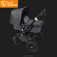 Excellent Land Leopard baby buggys are easy to fold and handy to carry with the safe and stable seamless tube connection