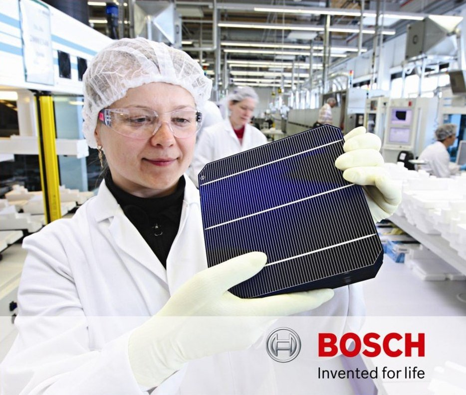 Solarworld German Broken Solar Cell (>1/2)