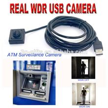 Low Lux Micro Hidden Surveillance WDR HDR USB Digital Camera for ATM