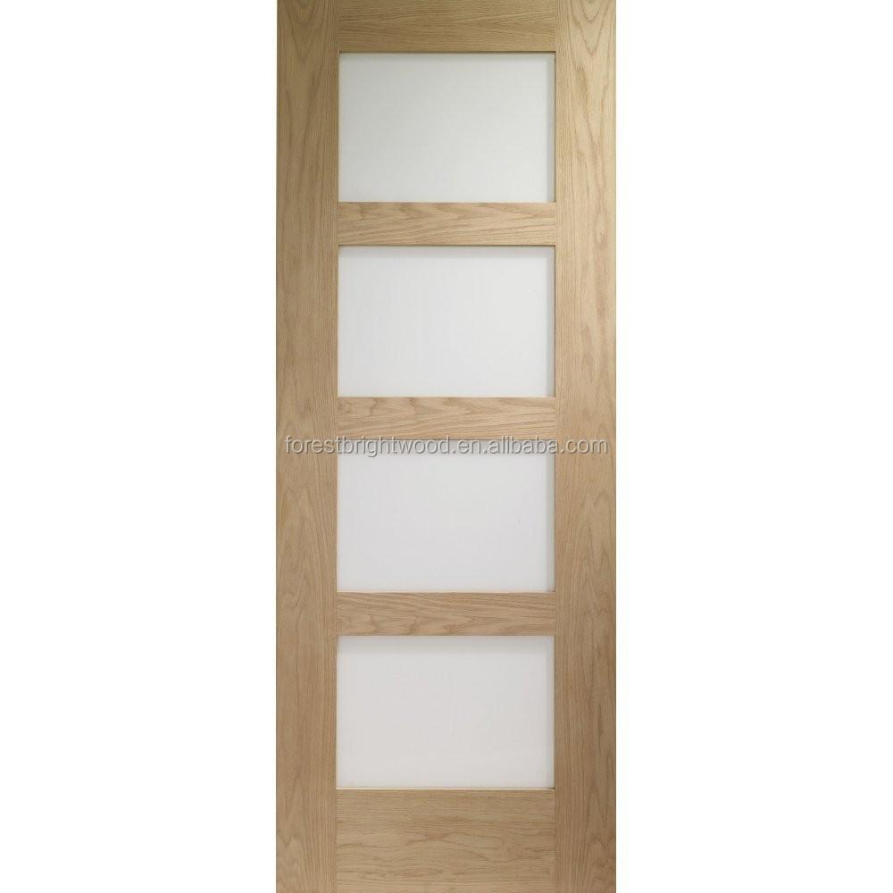 4 Glazed Panel Tempered Glass Door Buy Tempered Glass Door Interior Glass Doors Glass Doors